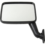 Right (Passenger) Side Vanagon Mirror - manual adjustment only with flat glass