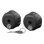 CURT Tray-Style Bike Rack Locking Knobs 2pc set - *Free Shipping!