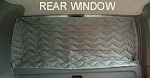 EuroVan Rear Window Insulation - 1pc Fits 1992 - 2003