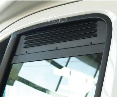 2014 - 2020 Ram ProMaster Airvent Cab Window Inserts - 2pc set (see product description for correct fit)
