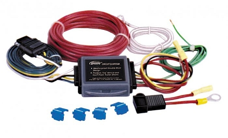 Hopkins Heavy Duty Flat 4 Wiring Kit - Short Proof
