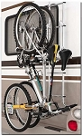 Ladder Mounted Bike Rack (only for Surco stainless ladders)