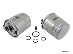 2010 - mid 2012 6 cyl. Sprinter Fuel Filter 131.4mm overall height - Mann, Mahle or Hengst for BlueTEC diesel engine only (with 3 pin sensor connector)