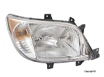 Hella Right (Passenger Side) Headlight WITH Fog Lights 2001-2006 Freightliner Only