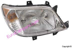 Hella Right (Passenger Side) Headlight without Fog Lights 2004-2006 Dodge Only