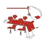 Fiamma F35 Pro Awning Kit Standard Mounting Brackets (2 piece set)