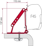 Fiamma  F45 Awning Roof Mount Brackets  2 Piece Set