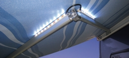 LED light kit for awning arms.  Fits F45S & F65S awnings