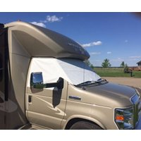 Ford E Series Cab Window Covers