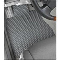 Rubber floor mats for Dodge Ram ProMaster City mid sized van