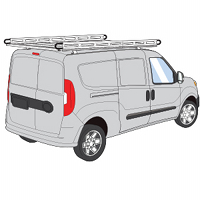 ProMaster City H2 Style Aluminum Roof Rack Systems