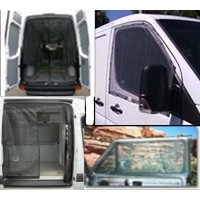 Ford E Series Van Screen Kits - Cab Window, Sliding and Rear Door