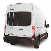 Ford Transit  Rear Door Ladders