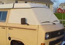 Vanagon Cab Window Covers