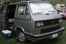 Vanagon Reflective Window Insulation