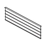Vantech Shelving Dividers - choose your depth