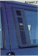 EuroVan Airvent 2 Security Screen for Driver Side Sliding Window
