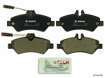 2007 - 2017 Sprinter 2500 Rear Brake Pad Set - Bosch Quietcast with sensors