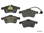 2000 VW EuroVan Front Brake Pad Set for models with 15 inch wheels, 280mm rotors & ATE calipers (one sensor) ATE or Pagid brand