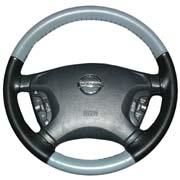 Wheelskins Eurotone style leather steering wheel cover