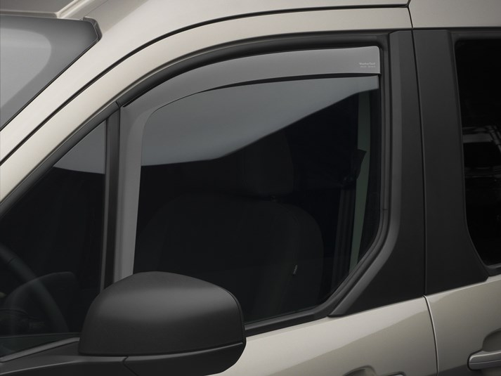 2014 - 2020 Ford Transit Connect Wind & Rain Deflectors (Light Tint) - all models - Free Shipping!