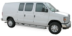 2001 - 2014 Ford E Series Van MegaStep® Stainless Step set - one 98