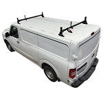 H1 Style Steel 2 Bar Roof Rack System for Nissan 2012 - 2021 NV 1500, 2500, 3500