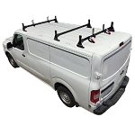 H1 Style Aluminum 3 Bar Roof Rack System for 2012 - 2021 Nissan NV Full Size