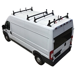 2014 - 2020 Ram ProMaster H1 4 Bar Aluminum Roof Rack System in Black, White or Silver Finish