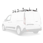 2014 - 2021 Ford Transit Connect H1 3 Bar Stainles Steel Low Profile Roof Rack System