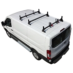 2015 - 2021 Ford Transit H1 3 Bar Steel Low Profile Roof Rack System