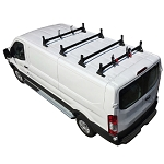 2015 - 2021 Ford Transit H1 4 Bar Aluminum Low Profile Roof Rack System