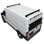 2014 - 2021 ProMaster H3 Style 2 Bar Aluminum Roof Rack w/ End Caps