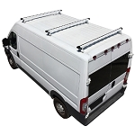 2014 - 2021 ProMaster H3 Style 3 Bar Aluminum Roof Rack w/ End Caps