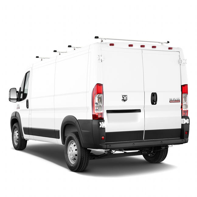 2014 - 2020 ProMaster H3 Style 4 Bar Aluminum Roof Rack w/ End Caps