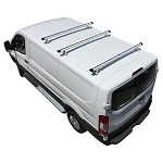 2015 - 2021 Ford Transit H3 Style 3 Bar Aluminum Roof Rack w/ End Caps