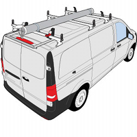 Mercedes Metris Vantech Aluminum J Series Roof Rack Systems