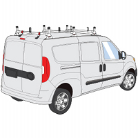ProMaster City H1 Style Aluminum and Steel Roof Rack Systems