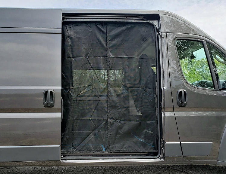 2015-2021 Ford Transit Sliding Door Magnetic Screen Set