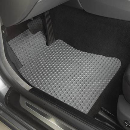 Rubber Front Floor Mats For Dodge Ram Promaster 1500 2500