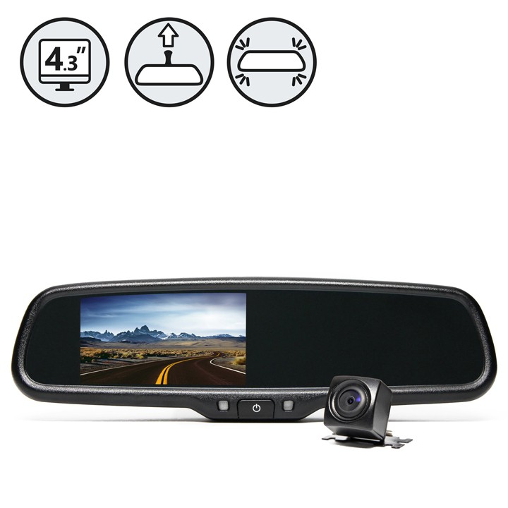 Backup Camera System for Ford Econolpne (E Series) Cargo Vans & Wagons