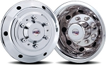 2001 - 2006 Sprinter 3500 Set of 4 Stainless Wheel Simulators for 15 inch Wheels*