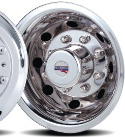 2004 2006 Sprinter 3500 Set Of 2 Stainless Rear Only Wheel Simulators For 16 Inch Wheels