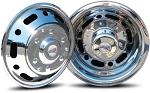2007 - 2011 Sprinter 3500 Set of 4 Stainless Wheel Simulators for 16 inch Wheels - Classic Style*