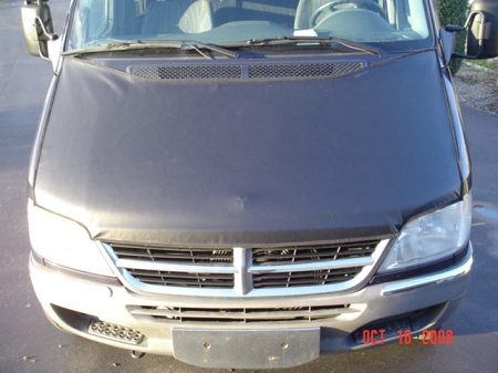 2001 - 2006 Sprinter Full Hood Bra for models with Dodge or Freightliner Grille - (for 5 cylinder engine models)