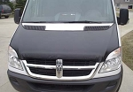 2007 - 2013 Sprinter Full Hood Bra fits all grilles - (for 6 cylinder engine models)
