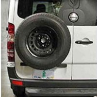 Sprinter Rear Tire Racks