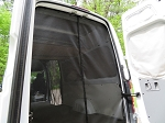 2007 - 2020 Sprinter Rear Screen fits Cargo Van only