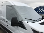 2014 - 2021 Ford Transit Van Marine grade 2-ply polyester Windshield Cover (choose white, beige or misty gray)