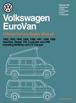 1992 - 1999 VW EuroVan Factory Repair Manual from Robert Bentley